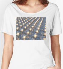 Reflecting Metal Spheres Women's Relaxed Fit T-Shirt