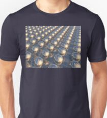 Reflecting Metal Spheres Unisex T-Shirt