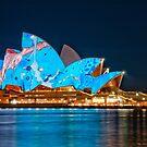 Vivid Opera House from Circular Quay by Erik Schlogl