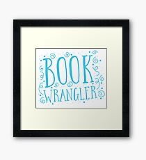 Book wrangler Framed Print