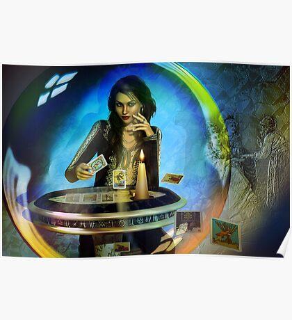 DUKKERIN' ... fortune teller Poster