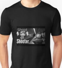 Shoot the shooter Unisex T-Shirt