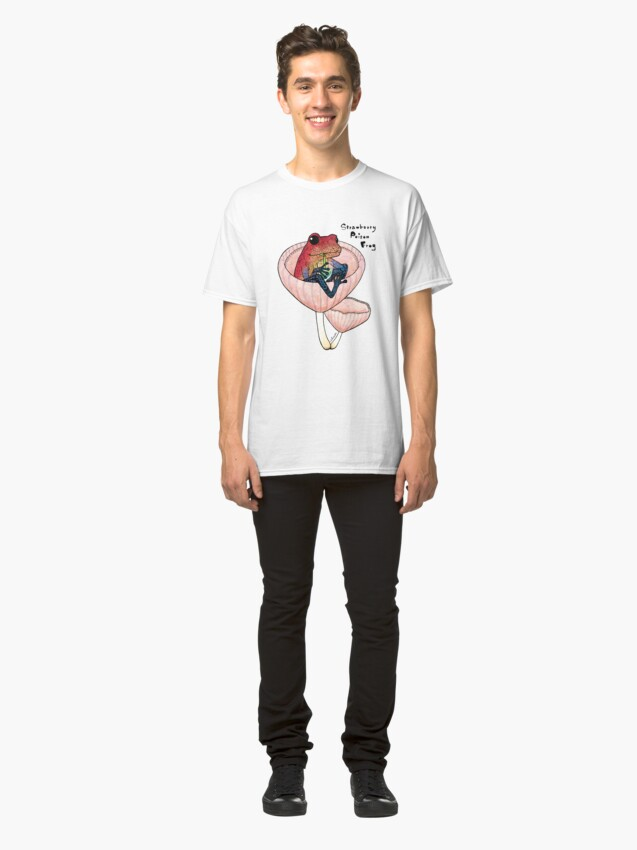 Alternate view of Strawberry Poison Frog Classic T-Shirt