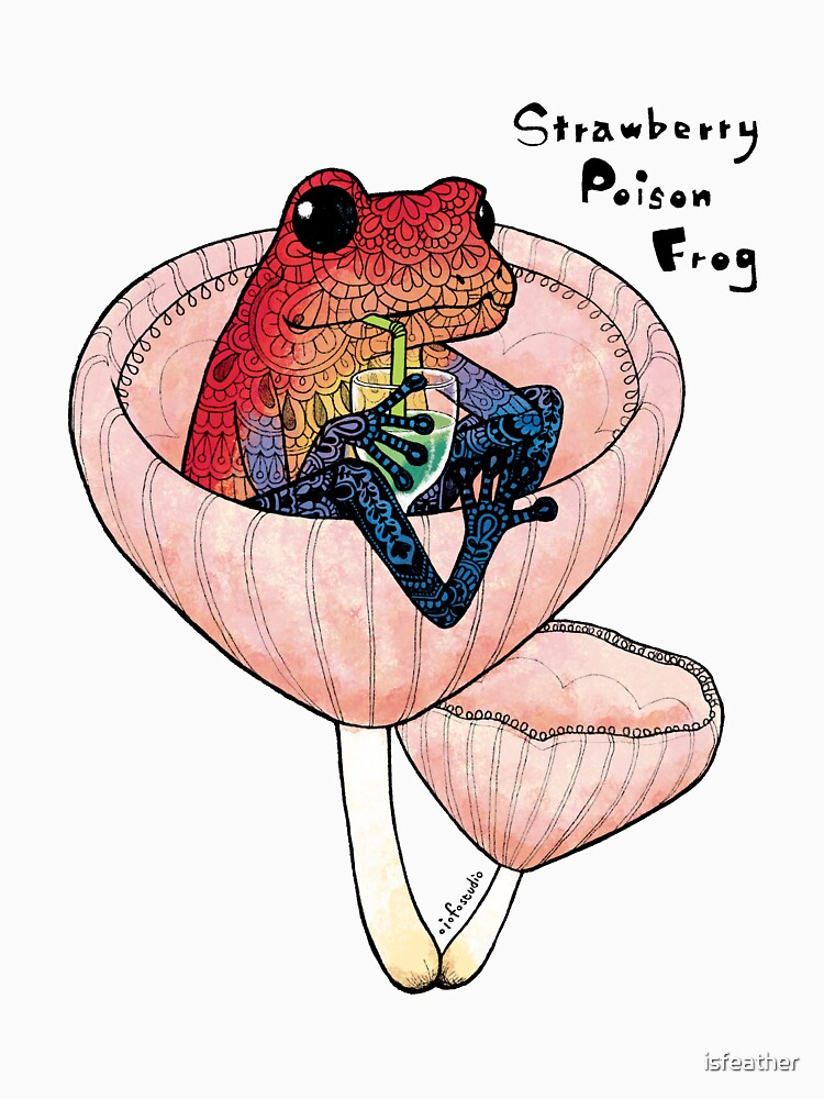 Strawberry Poison Frog by isfeather