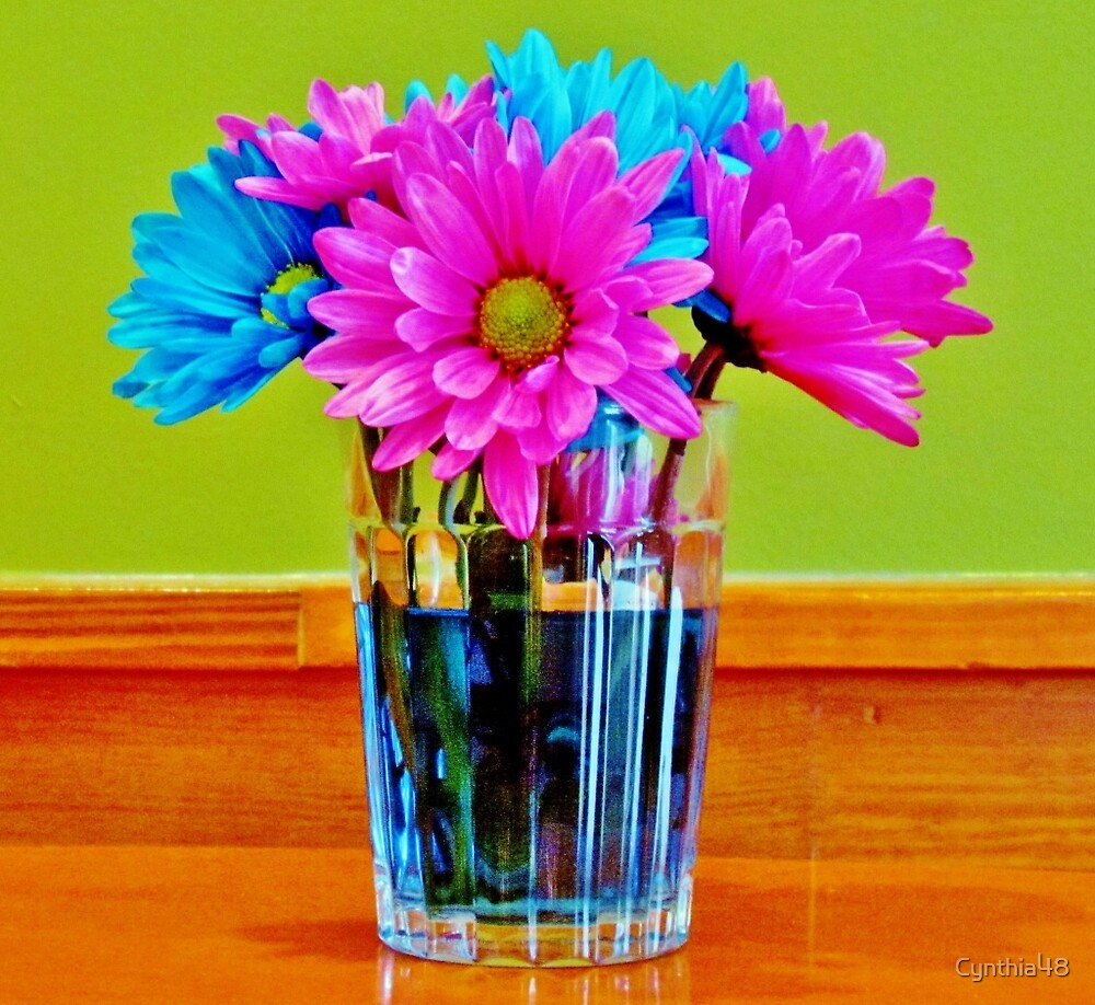 Flowers In Vase by Cynthia48