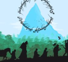 Lord of the Rings Travel Design Sticker