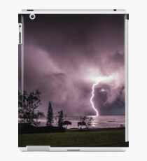 Lightning at Lennox Head iPad Case/Skin