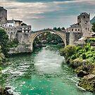 "Stari Most ""Old Bridge"" Mostar by Colin Metcalf"