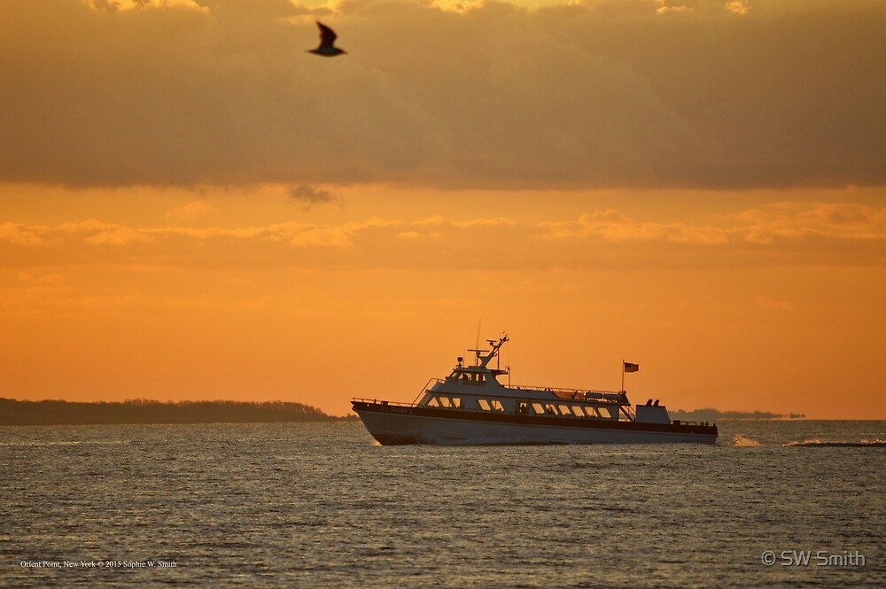 Miss Shahan II - Passenger Vessel | Orient Point, New York by © Sophie W. Smith
