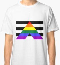 Straight Ally Pride Flag Classic T-Shirt