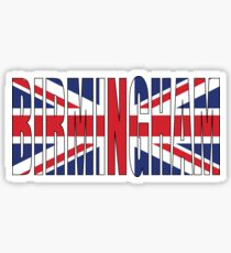Birmingham. Sticker