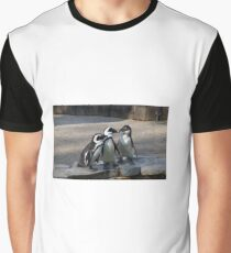 Penguin embracing Graphic T-Shirt