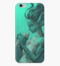 Mermaid with Shell iPhone Case