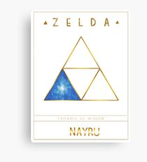 Triforce Designs - Nayru's Wisdom Edition Canvas Print