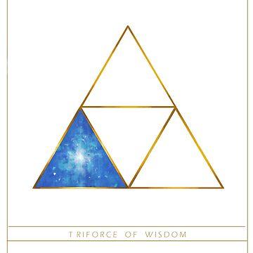 Triforce Designs - Nayru's Wisdom Edition by ellie-ant