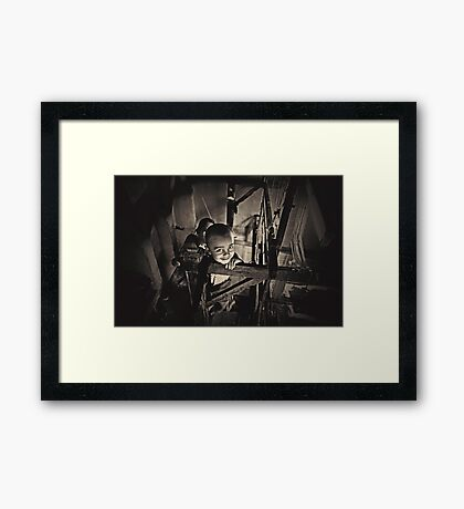 King of the Loom Framed Print