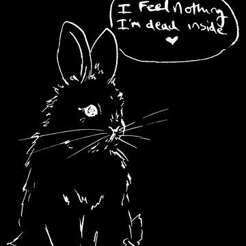 Nihilist Bunnies - Dead Inside by occulttrash