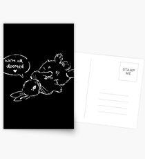 Nihilist Bunnies - zum Scheitern verurteilt Postkarten