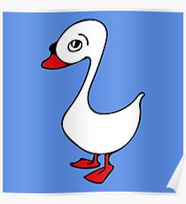 Little Swan Poster