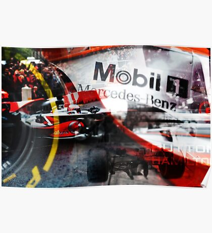 Formula One Manchester Poster