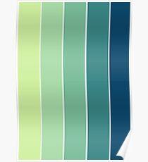 Color Scheme: Rainforrest Poster
