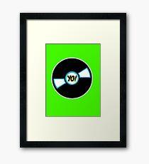 HIP-HOP ICONS: YO! RECORDS Framed Print