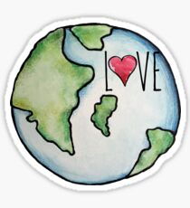 LOVE earth day  Sticker
