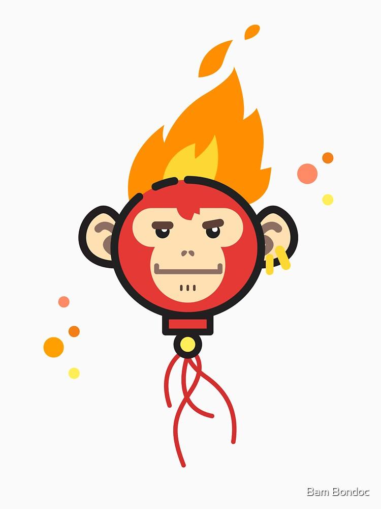 Fire Monkey by bambondocdesign