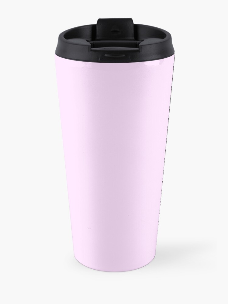 "Alternate view of ""Your Best Is Enough"" Sunset Cat Travel Mug"