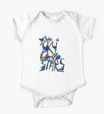 Sky Full of Stars (painted) One Piece - Short Sleeve