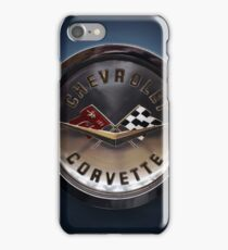 chevrolet corvette logo iPhone Case/Skin