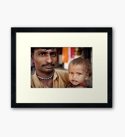 My Mother's Eyes Framed Print