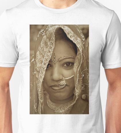 Varanasi Bride in Sepia T-Shirt
