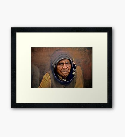 At the Window Again Framed Print