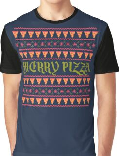 Merry Pizza Graphic T-Shirt