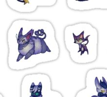 Cat Pokemon Stickers Sticker