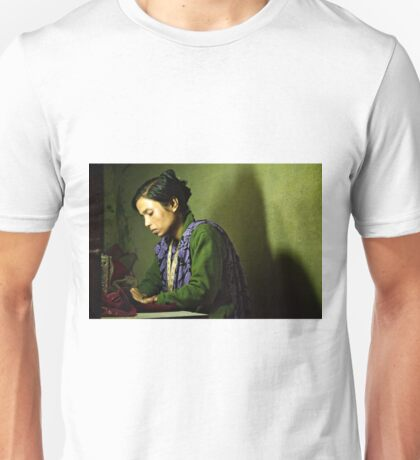 She Sews into the Night T-Shirt