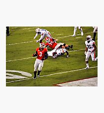 Todd Gurley Scoring final TD at UGA Photographic Print