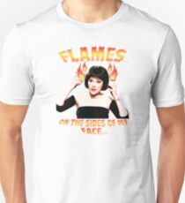 Clue Mrs White Flames T-Shirt