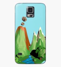 Low poly Landscape Case/Skin for Samsung Galaxy