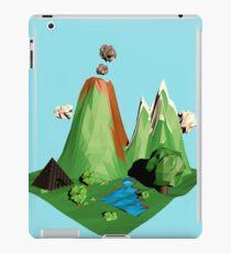 Low poly Landscape iPad Case/Skin