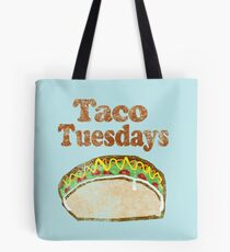 Vintage Taco Tuesday Tote Bag