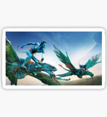 Flying Dragons Sticker