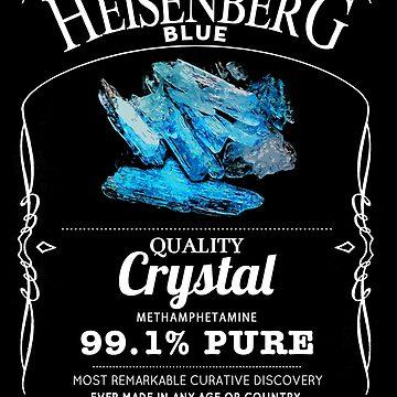 Heisenberg Blue - 99.1% Pure  by LukeOlfert