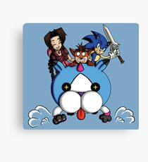 Video Games Unite! Canvas Print