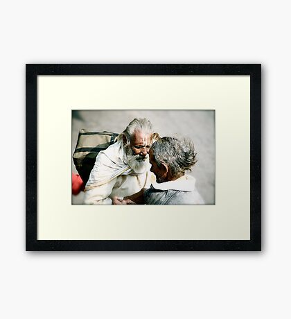 One Last Thought Framed Print