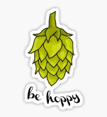 Be Hoppy Sticker