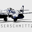 Messerschmitt 262 by Chris Jackson