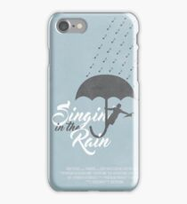 Singin' in the Rain Poster iPhone Case/Skin