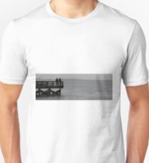 Lonely Pier Photograph T-Shirt